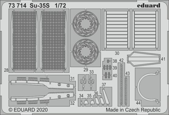 Su-35S 1/72  - 2