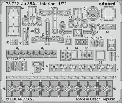 Ju 88A-1 interior 1/72  - 2