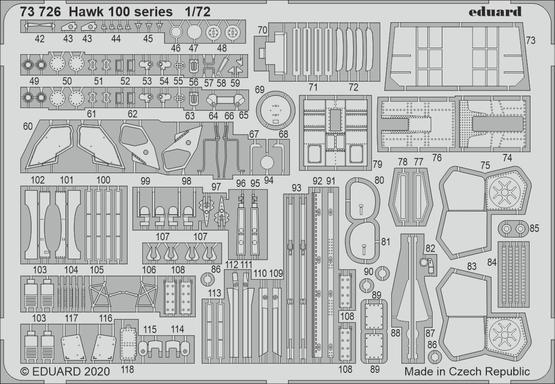 Hawk 100 series 1/72  - 2