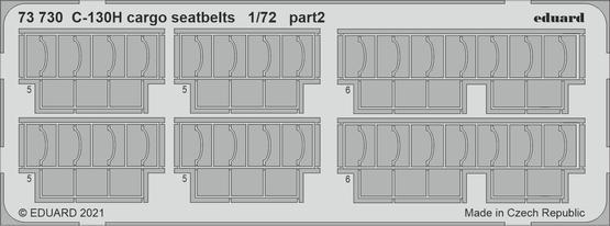 C-130H cargo seatbelts 1/72  - 2