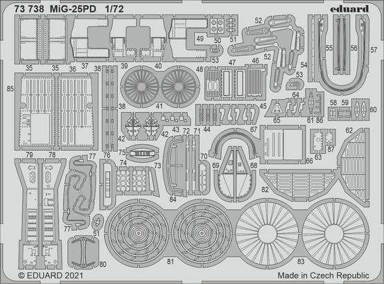 MiG-25PD 1/72  - 2