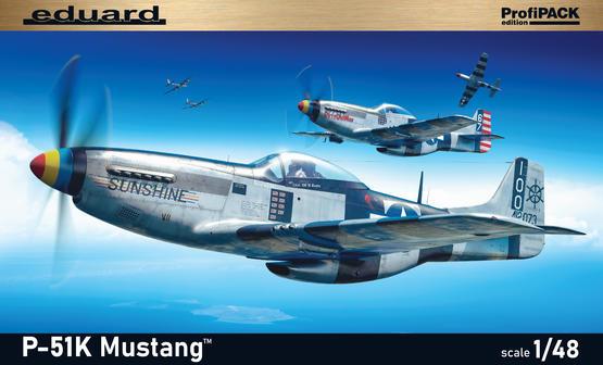 P-51K Mustang 1/48  - 2