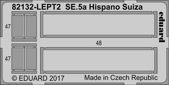 SE.5a Hispano Suiza  PE-set 1/48  - 2