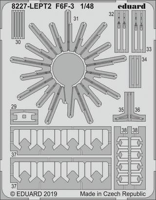 F6F-3 PE-set 1/48  - 2
