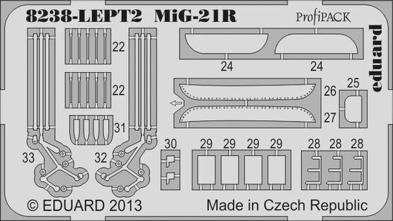 MiG-21R PE-set 1/48  - 2