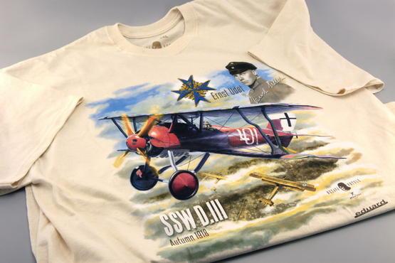 SSW D.III + T-shirt (XXL) 1/48  - 2