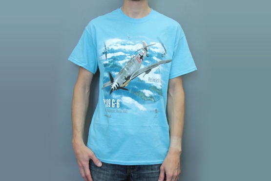 Bf 109G-6 +T-Shirt L 1/48  - 2