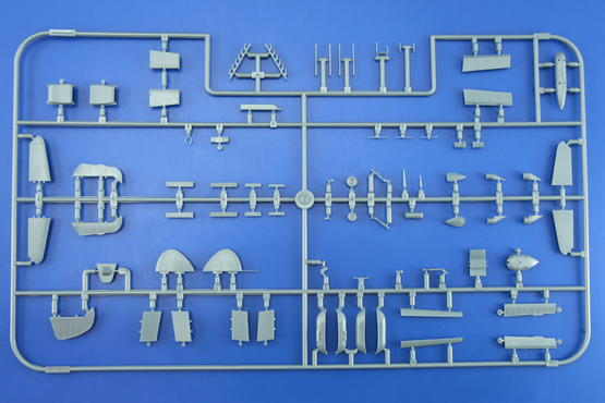 Bf 109G small parts OVERTREES  1/48 1/48  - 2