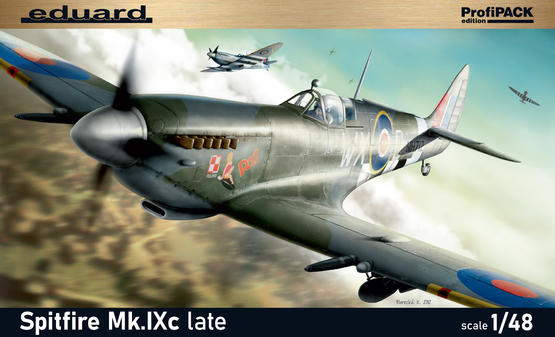 Spitfire Mk.IXc late version 1/48  - 2