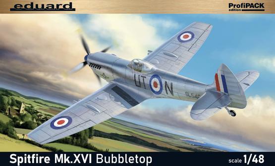 Spitfire Mk.XVI Bubbletop 1/48  - 2