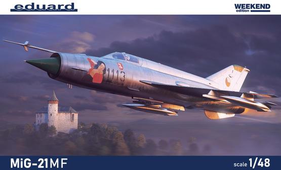 MiG-21MF 1/48  - 2