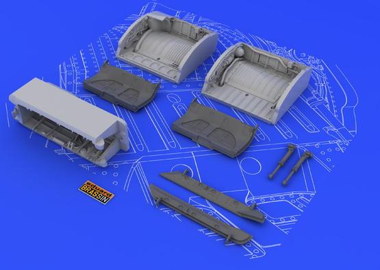 МиГ-21 шасси с бронзовыми стойками 1/48  - 2