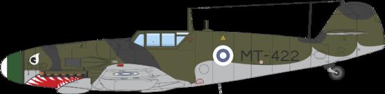 メルス/ Bf 109G フィンランド軍仕様 デュアルコンボ 1/48  - 2