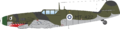 メルス/ Bf 109G フィンランド軍仕様 デュアルコンボ 1/48 - 2/3