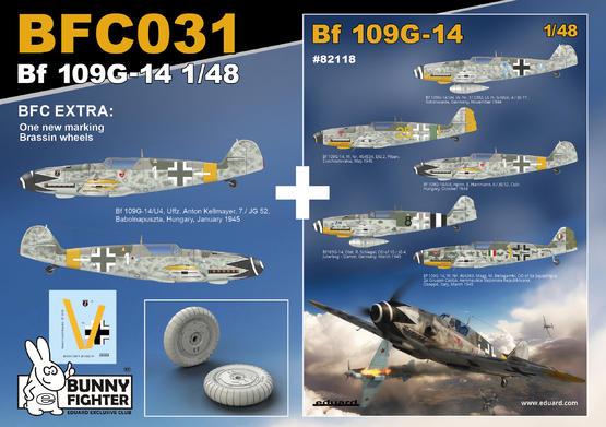 Bf 109G-14 JG 52 1/48  - 2