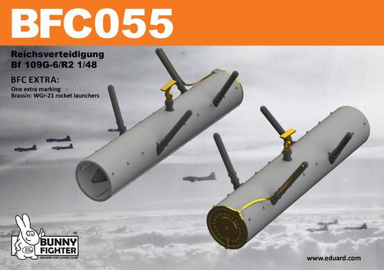 Reichsverteidigung Bf 109G-6 1/48  - 2