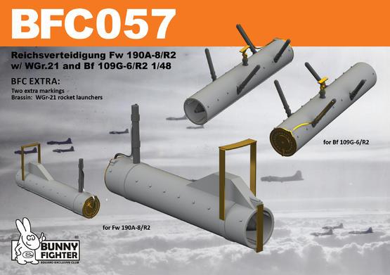 Reichsverteidigung Fw 190A-8/R2 & Bf 109G-6 1/48 kit 1/48  - 2