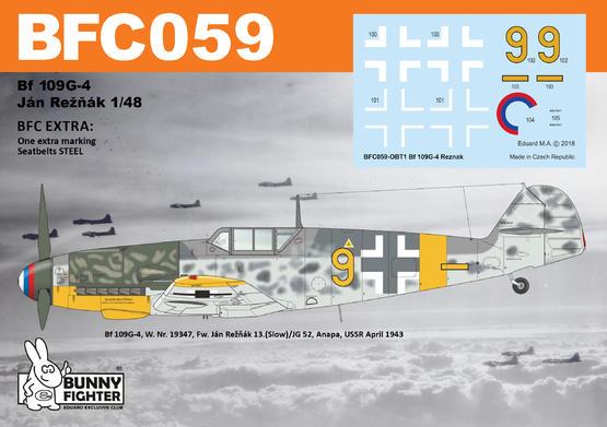 Bf 109G-4 Reznak 1/48  - 2