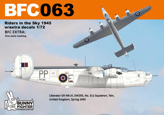 Riders in the Sky 1945 w/extra decals 1/72  - 2