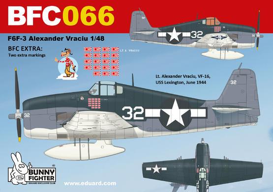 F6F-3 A. Vraciu 1/48  - 2