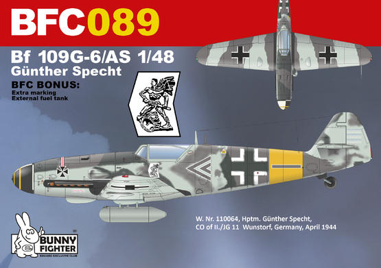 Bf 109G-5/AS Günther Specht 1/48  - 2