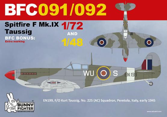 Spitfire F Mk.IX Taussig 1/48  - 2