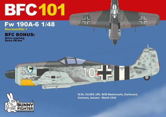 Fw 190A-6 Sturmstaffel 1/48  - 2