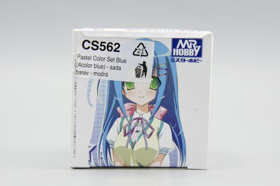 Mr.Color - set of 4 blue pastel colors  - 2
