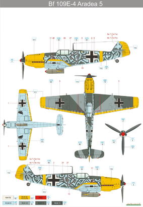 Bf 109E-4 1/48  - 2
