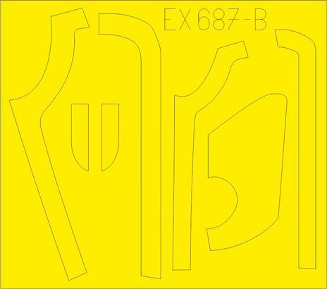 B-17G 防眩パネル(BO & DL生産) 1/48  - 2