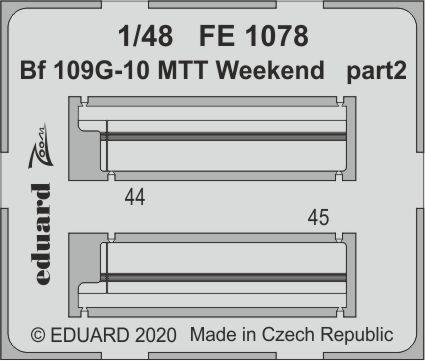 Bf 109G-10 MTT Weekend 1/48  - 2