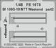 Bf 109G-10 MTT Weekend 1/48 - 2/2