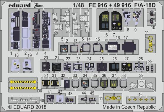 F/A-18D interior 1/48  - 2