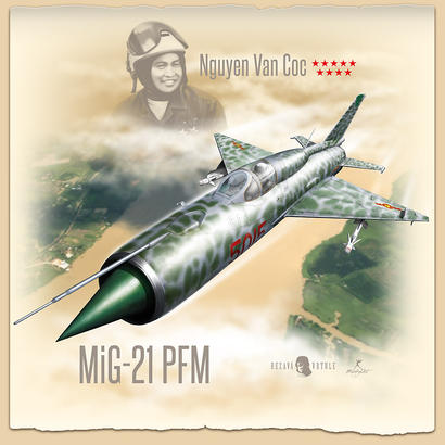 T-shirt MiG-21PFM (XL) - Rezavá Vrtule  - 2