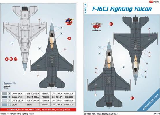 F-16CJ 1/32  - 2