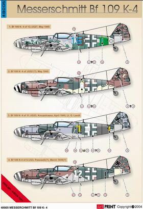 Me 109 K-4 1/48  - 2