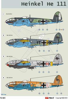 He 111 1/72  - 2