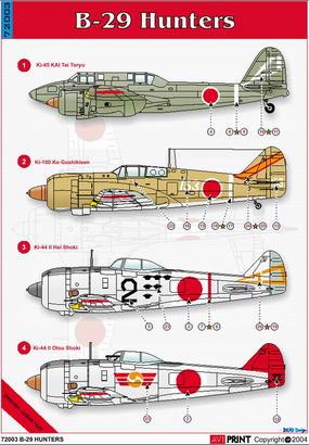 B-29 Hunters 1/72  - 2