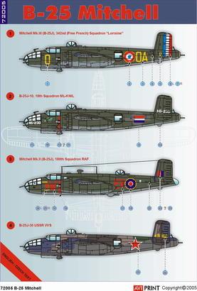B-25 1/72  - 2