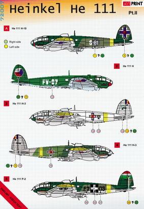 Heinkel He 111 Pt.2 1/72  - 2