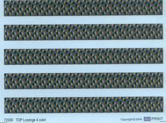 Lozenge 4 colors 1/72  - 2