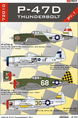 P-47D Thunderbolt Pt.1 1/72  - 2