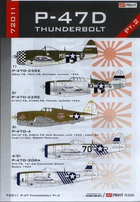 P-47D Thunderbolt Pt.2 1/72  - 2