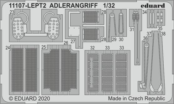 ADLERANGRIFF PE-set 1/32  - 2