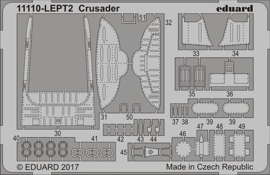 Crusader PE-set 1/48  - 2
