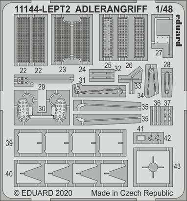ADLERANGRIFF PE-set 1/48  - 2