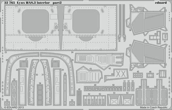 Lynx HAS.3 interior S.A. 1/32  - 2