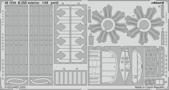 B-25D exterior 1/48  - 2