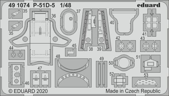 P-51D-5 interior 1/48  - 2
