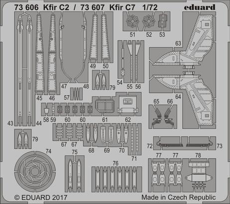 Kfir C7 1/72  - 2